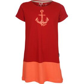 Elkline Farbenfroh Dress Girls truered-coral